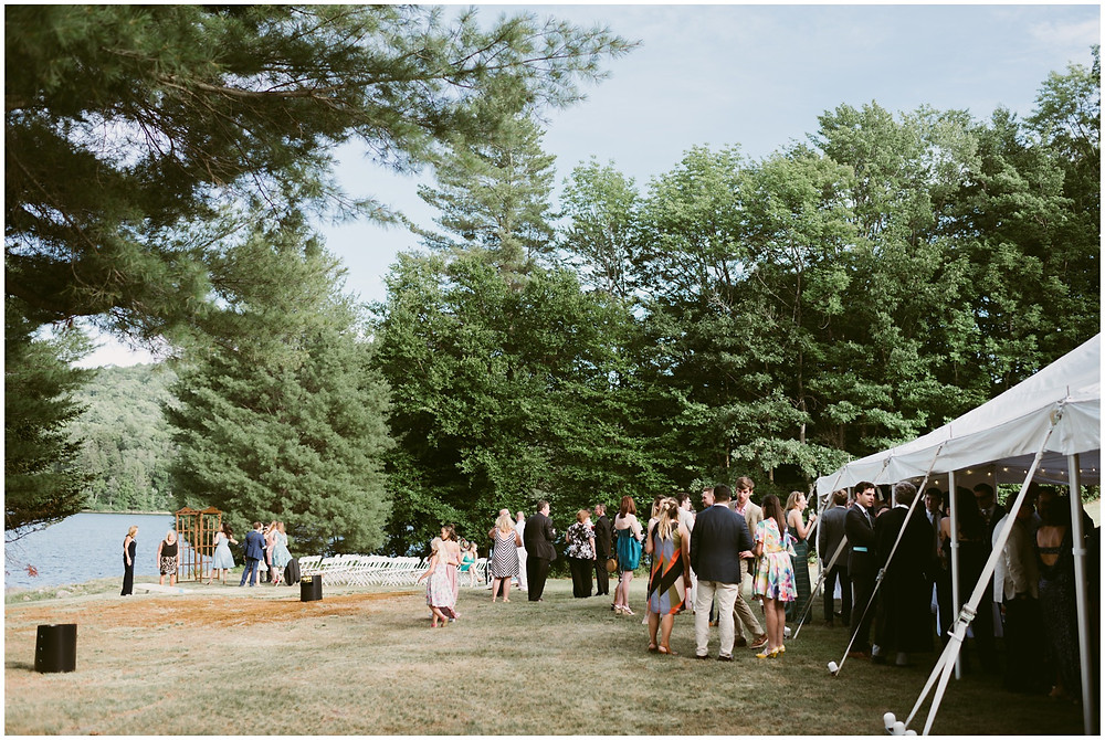 summer wedding in the adirondack mountains