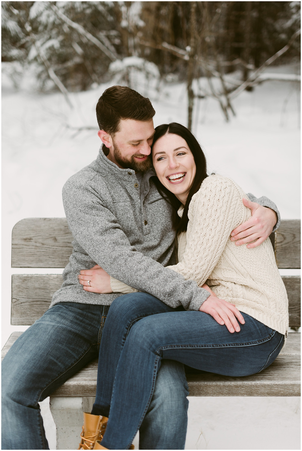Upstate New York engagement photographer by Mountainaire Gatherings