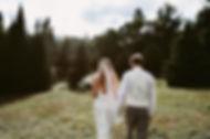 Outdoor summer wedding photos in Lake Placid, NY