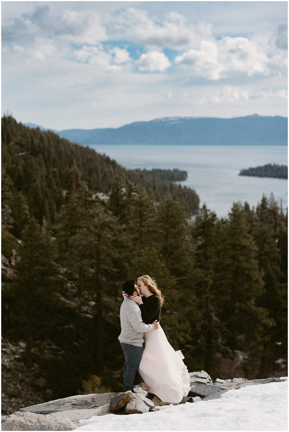 Emerald Bay, Lake Tahoe wedding photographer