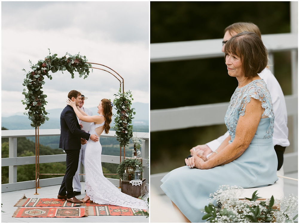 summer wedding at the lake placid olympic sports complex