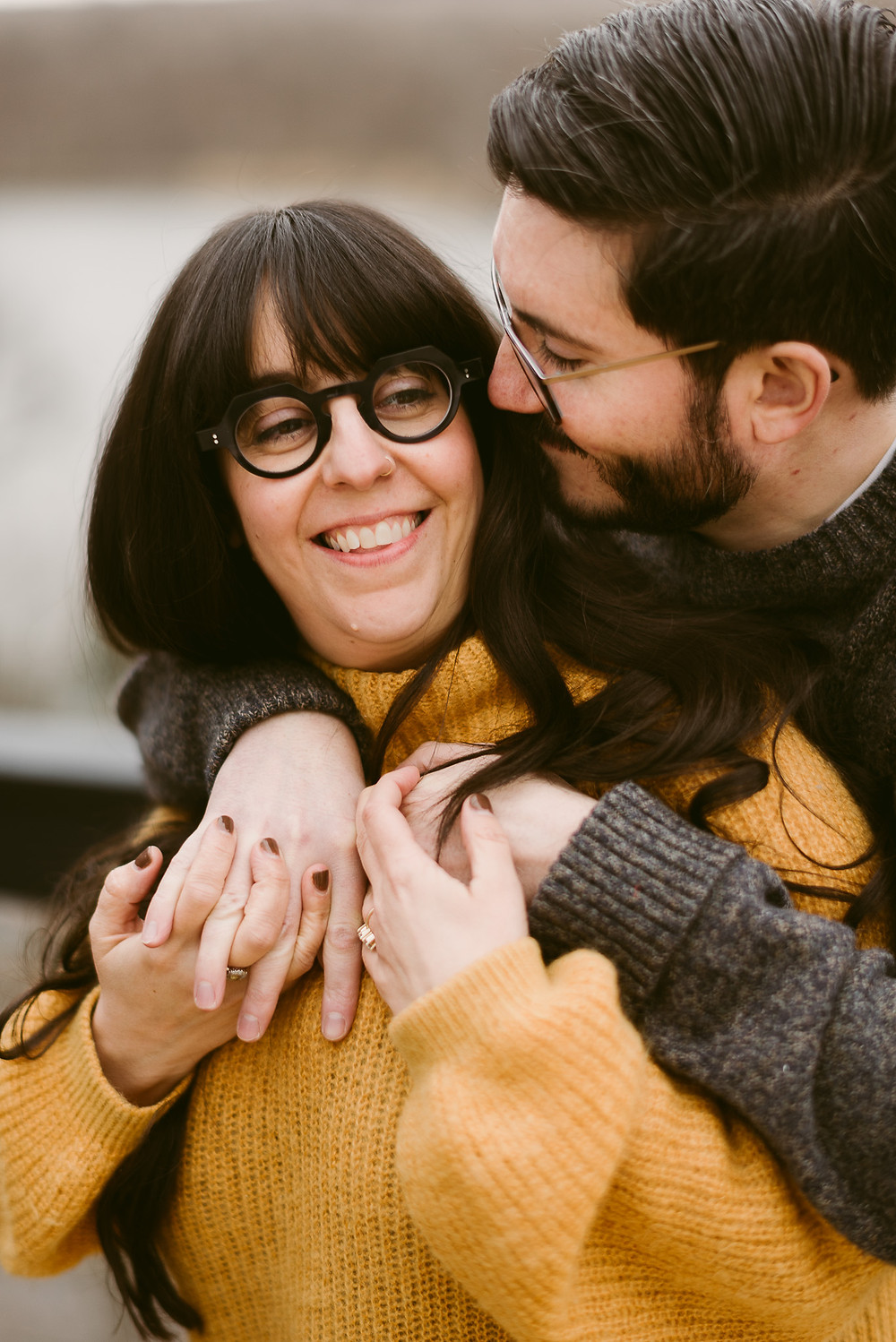Cozy In-Home Engagement Session in Upstate NY | Lake Placid Wedding Photographer | Mountainaire Gatherings