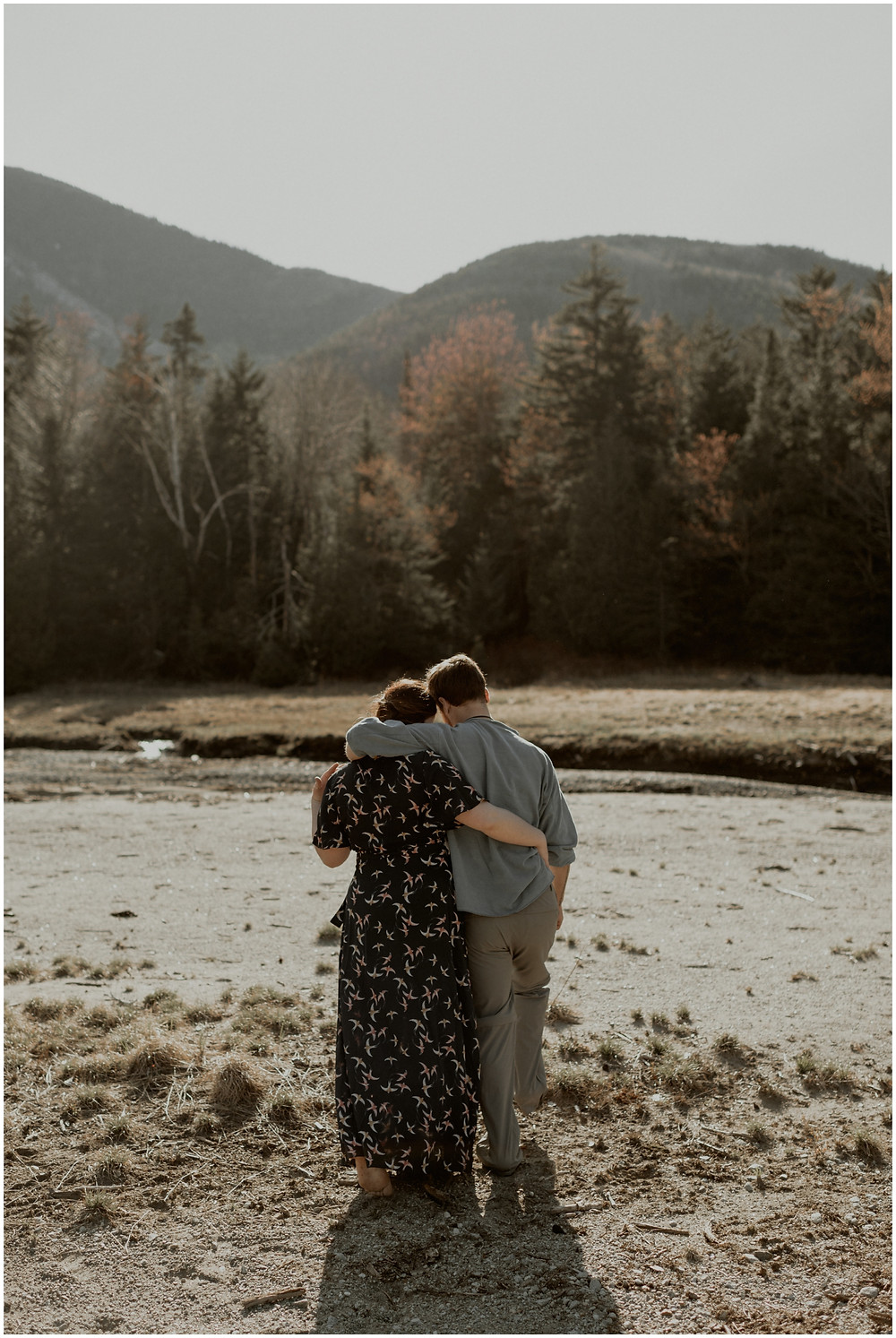 Engagement photos in the Adirondack Mountains by Mountainaire Gatherings