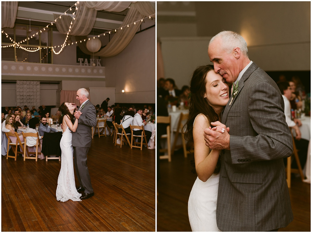 Upstate New York wedding at the Takk House in Troy, NY by Mountainaire Gatherings