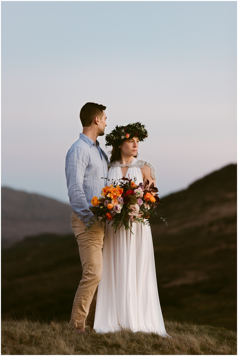 Lake District National Park, UK outdoor wedding