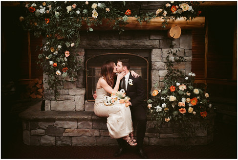 A Winter Wedding at Mirror Lake Inn, Lake Placid NY