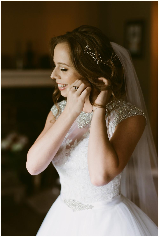 Bridal portrait by Maryland wedding photographer Mountainaire Gatherings