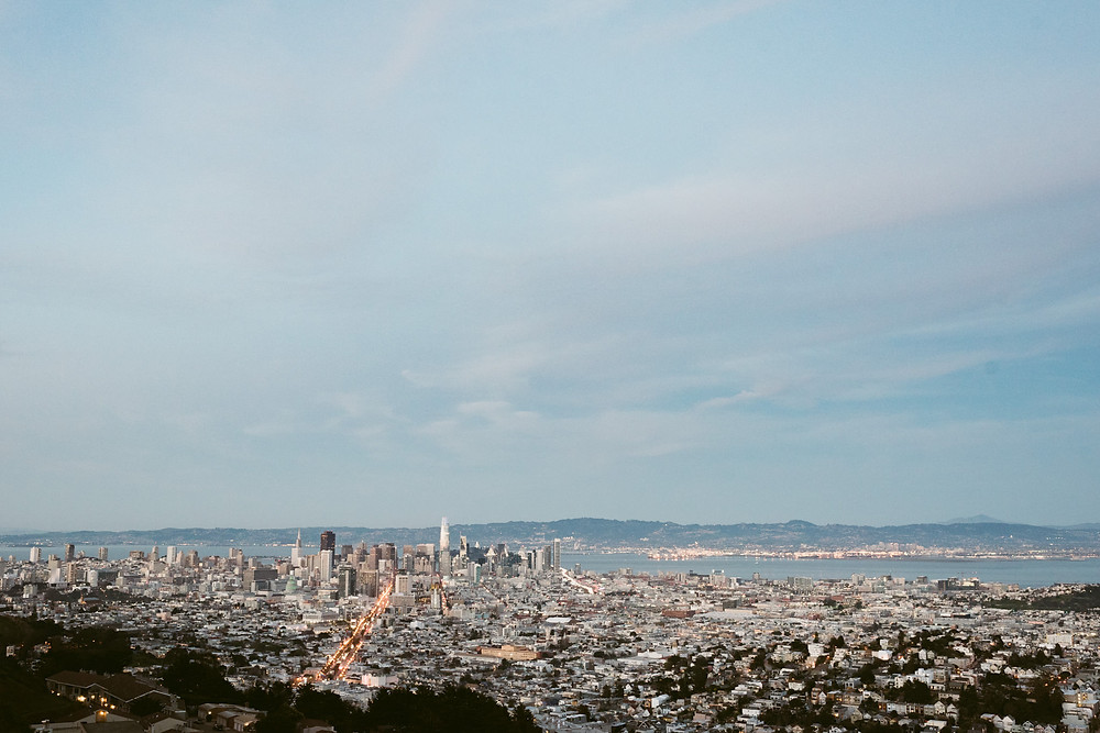 Engagement Session at Twin Peaks in San Francisco