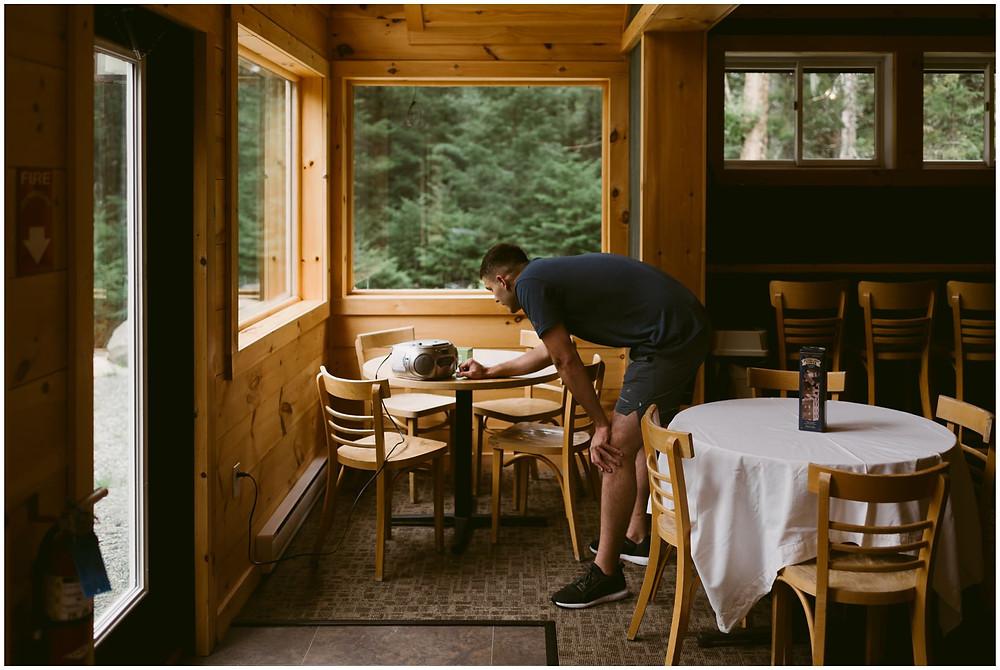 Adirondack elopement photographs