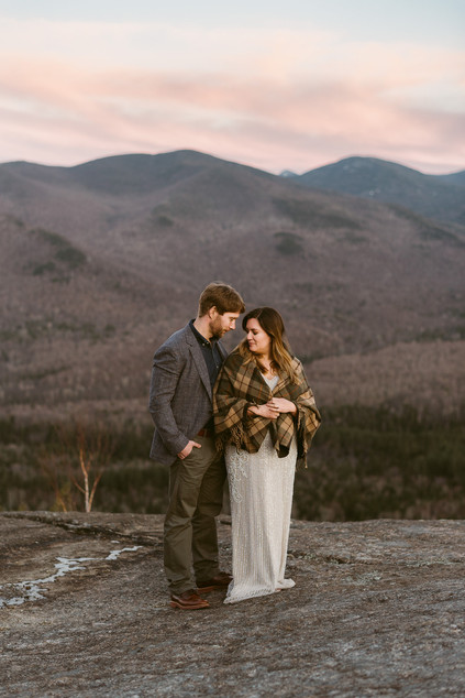 Romantic Elopement on Mount Jo | Upstate New York Wedding & Elopement Photographer