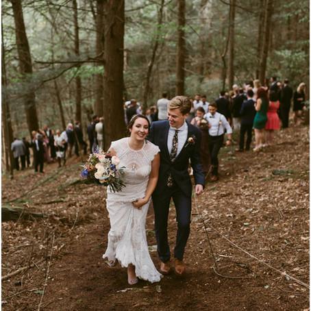 Woodland Cathedral Wedding | Hudson Valley, NY | Catskills Wedding & Elopement Photographer