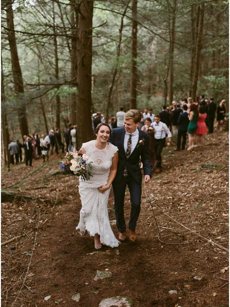 Woodland Cathedral Wedding   Hudson Valley, NY   Catskills Wedding & Elopement Photographer