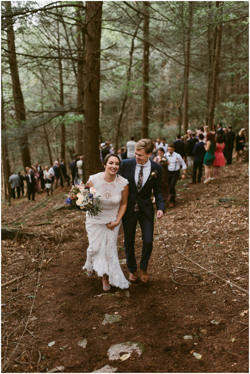 Woodland Cathedral Wedding | Hudson Valley, NY | Catskills Wedding & Elopement Photographer