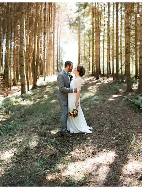 Mollie & Brian's Vermont Wedding at the Mountaintop Inn