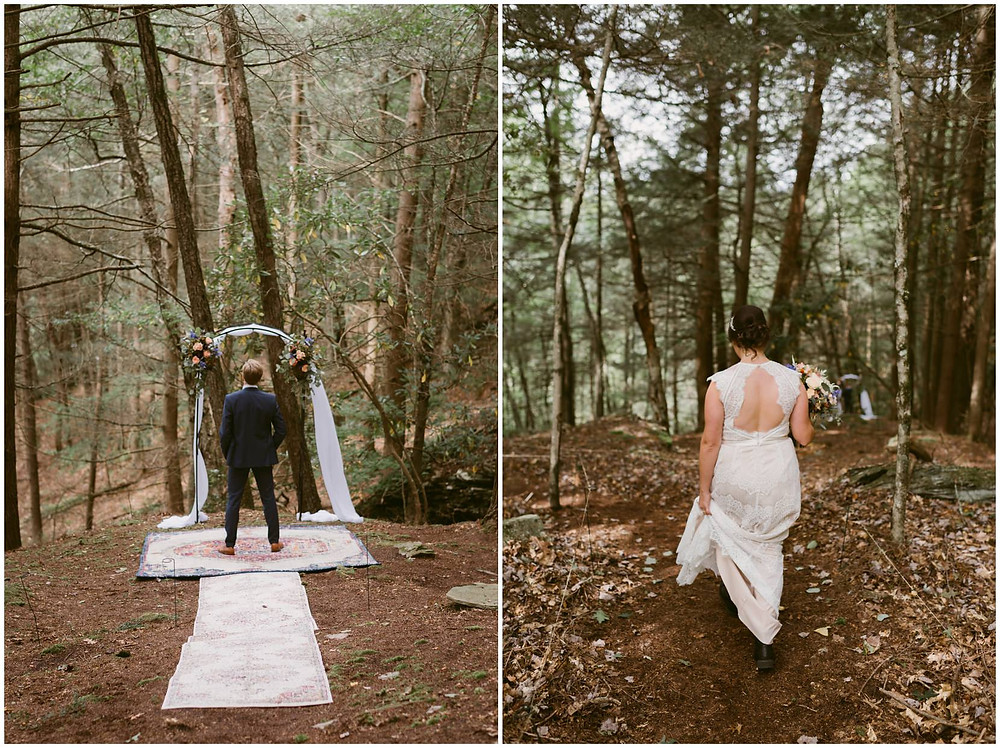 lodge wedding in the catskill mountains