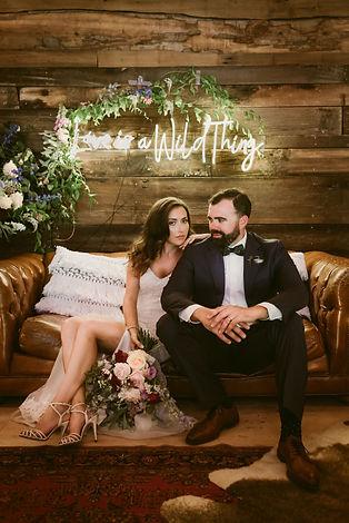 Summer Wedding at Hayfield in the Catski