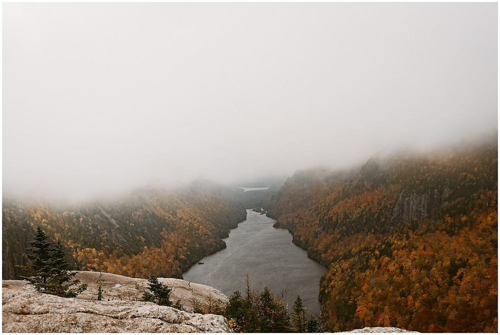Fish Hawk Cliffs and Indian Head in Keene, NY by Mountainaire Gatherings