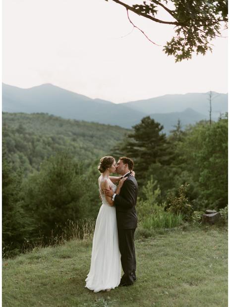 Caitlin & Matt's Outdoor Wedding at The Mountain House in Keene, NY