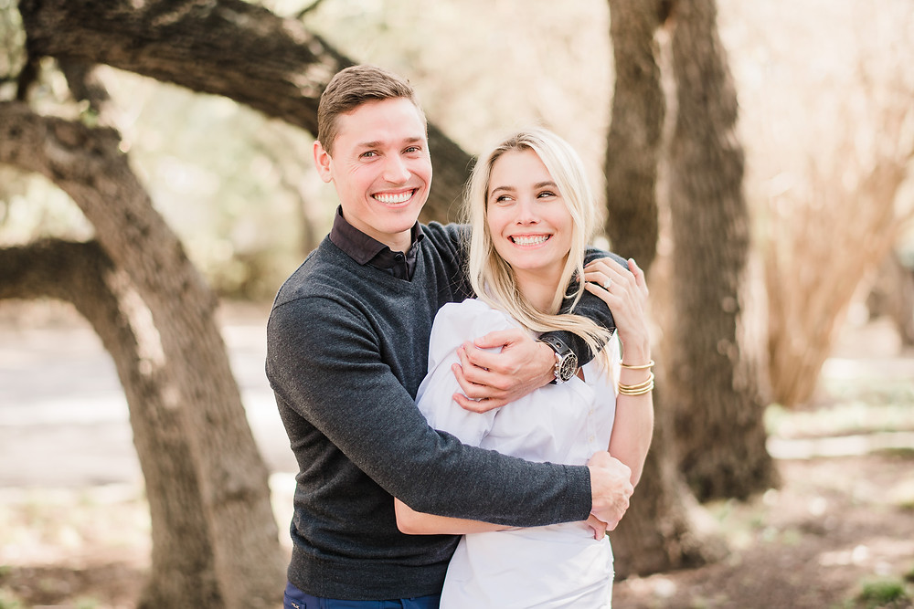Spring engagement session around Austin, Texas | Mountainaire Gatherings