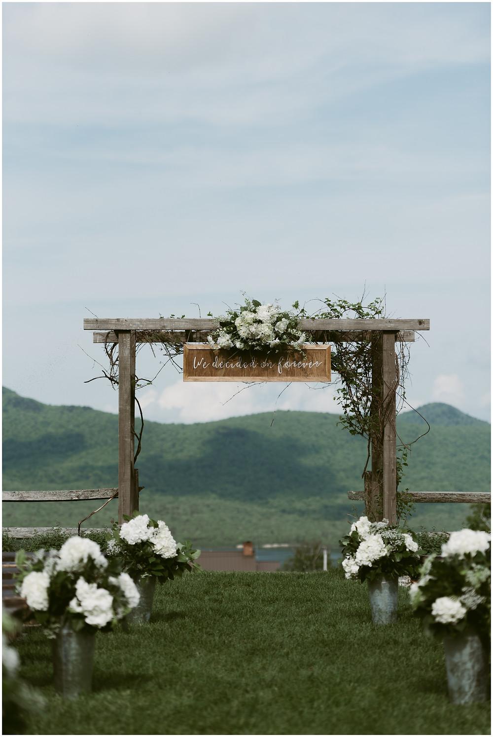 Mountain Top Inn and Resort wedding photographs