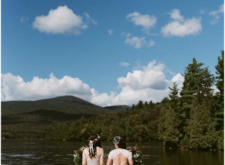 LGBTQ Lake Placid Wedding | Whiteface Club & Resort | Adventure Elopement & Wedding Photogra