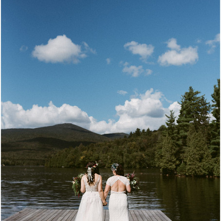 LGBTQ Lake Placid Wedding | Whiteface Club & Resort | Adventure Elopement & Wedding Photogra