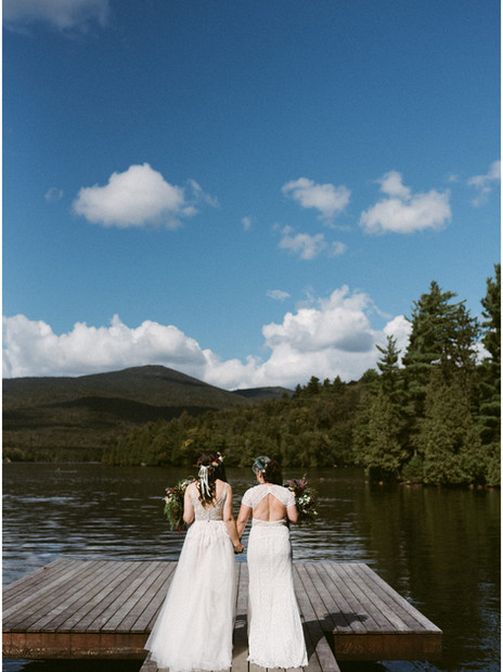 LGBTQ Lake Placid Wedding   Whiteface Club & Resort   Adventure Elopement & Wedding Photogra
