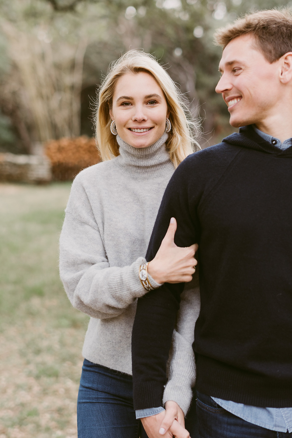 Spring engagement session at The Wayback in Austin, Texas | Mountainaire Gatherings