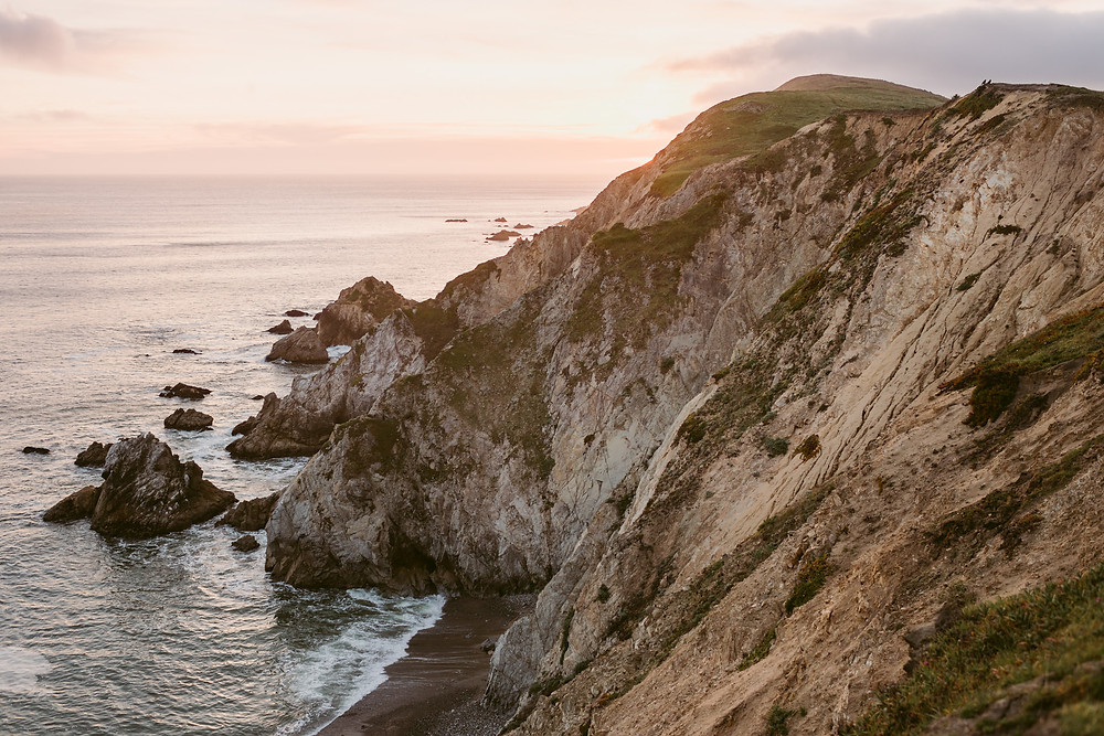 Point Reyes sunset engagement session