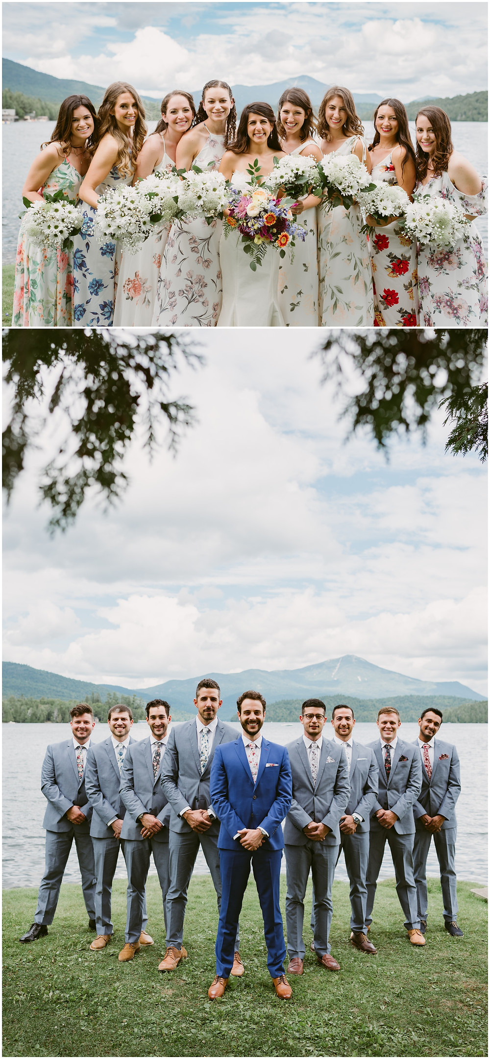 Outdoor Alaskan wedding photographer