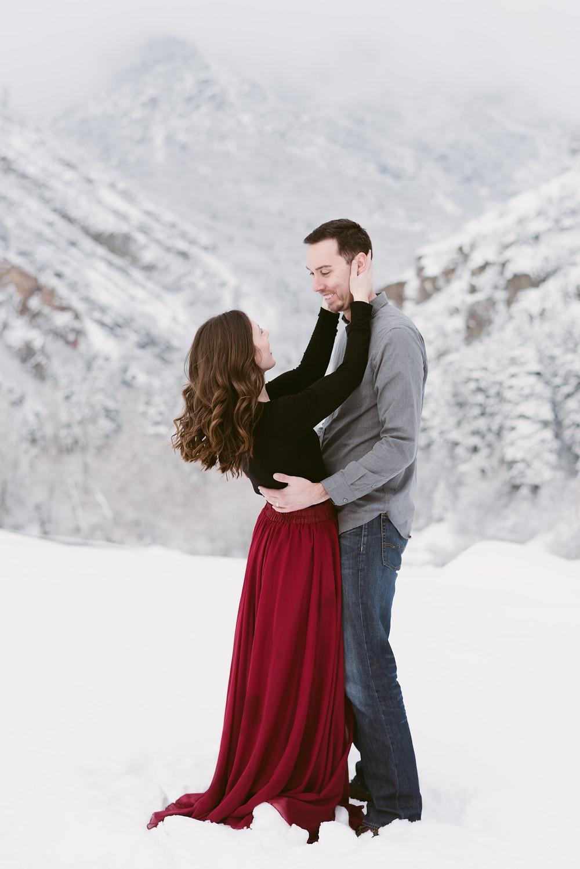 Big Cottonwood Canyon Anniversary Session | Utah Adventure Wedding Photographer