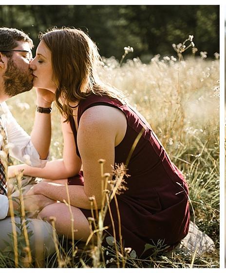 Rebecca & Nathan's Adirondack Engagement Session