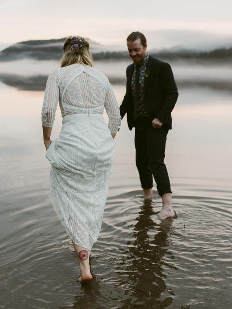 A Spring Wedding at Jimbo's Club at the Point | Adirondack Wedding Photographer