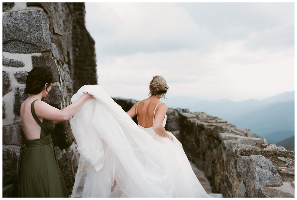Wedding on the Summit of Whiteface by Mountainaire Gatherings