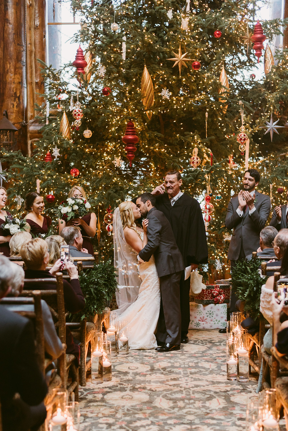 Lake Placid Wedding and Elopement Photographer Mountainaire Gatherings winter wedding at the Whiteface Lodge