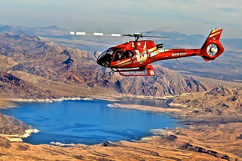 3 Night Glamping + Vegas -> Grand Canyon Helicopter Tour + Grand Canyon Railway