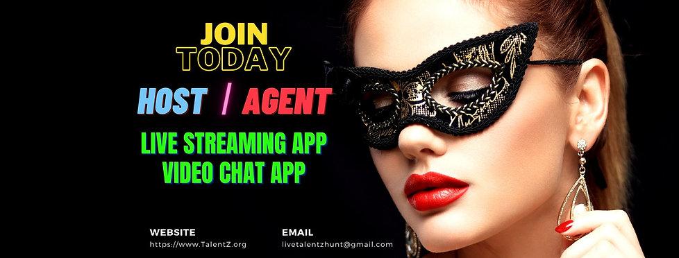 Hiring model and agency for live streaming app hiyaa, chamet, zeeplive, tomato, livchat, meme live, livu, streamkar