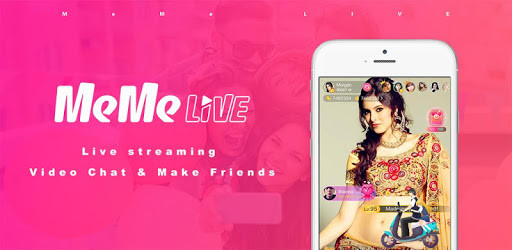 MeMe Live is also a mobile live streaming app where streamers do live streaming and users entertain by watching host live stream. you can also join MeMe live official host and earn money from this platform.