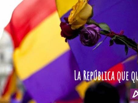 La República que queremos.
