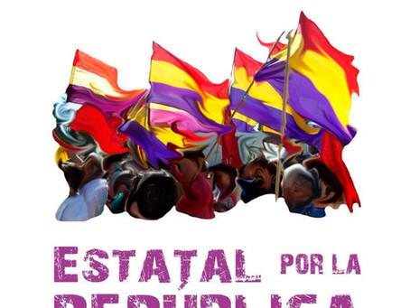 El Encuentro Estatal por la República convoca una movilización unitaria para el 18 de octubre.