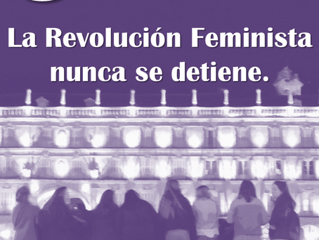 La Revolución Feminista nunca se detiene