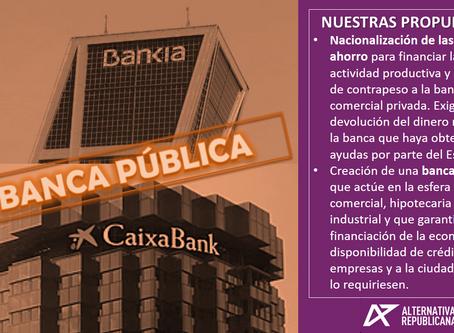Banca Pública: La propuesta republicana.