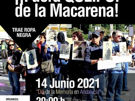 Sevilla: ¡¡Fuera Queipo de Llano de la Macarena!!