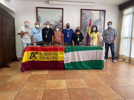 Se celebró en Olvera el Comité de la Federación Andaluza de Alternativa Republicana.