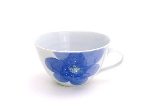 PS Blue / Soup Cup by Higashigama Studio, Tobe, Japan