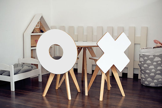 Tic Tac Toe Chair for Kids