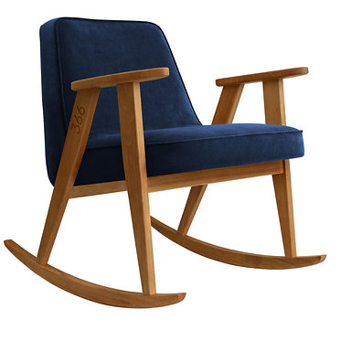 Rocking Armchair 366, 1960s
