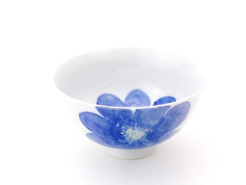 PS blue / Salad bowl S by Higashigama Studio, Tobe, Japan
