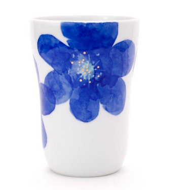 PS Blue Tumbler by Higashigama Studio, Tobe, Japan