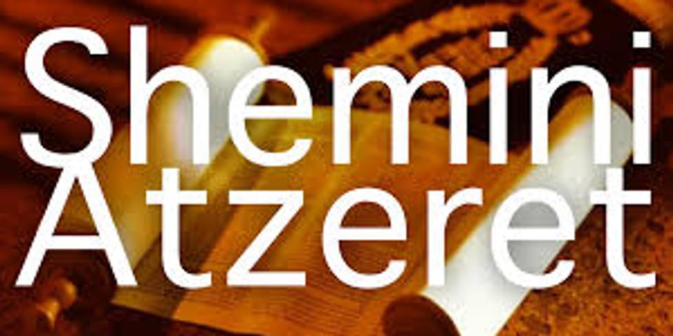 Shemini Atzeret Service - Eighth Day Assembly